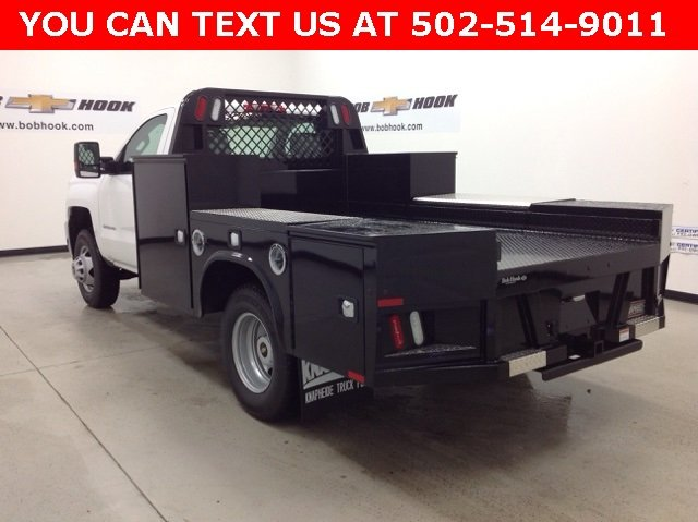 2016 Silverado 3500 Regular Cab, Knapheide PGND Gooseneck Platform Body #161170 - photo 4