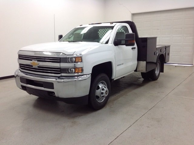 2016 Silverado 3500 Regular Cab DRW, Knapheide Platform Body #161170 - photo 5