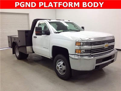 2016 Silverado 3500 Regular Cab, Knapheide PGND Gooseneck Platform Body #161170 - photo 1