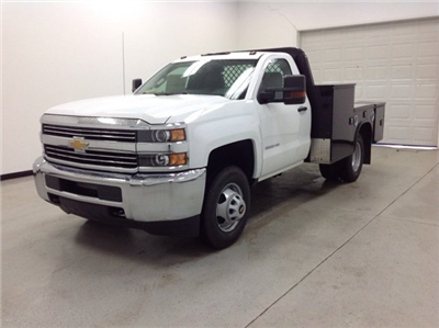2016 Silverado 3500 Regular Cab, Knapheide PGND Gooseneck Platform Body #161170 - photo 5