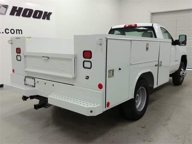 2016 Silverado 3500 Regular Cab DRW 4x4, Reading SL Service Body #161389 - photo 2