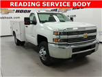 2016 Silverado 3500 Regular Cab DRW 4x4, Reading Service Body #161389 - photo 1