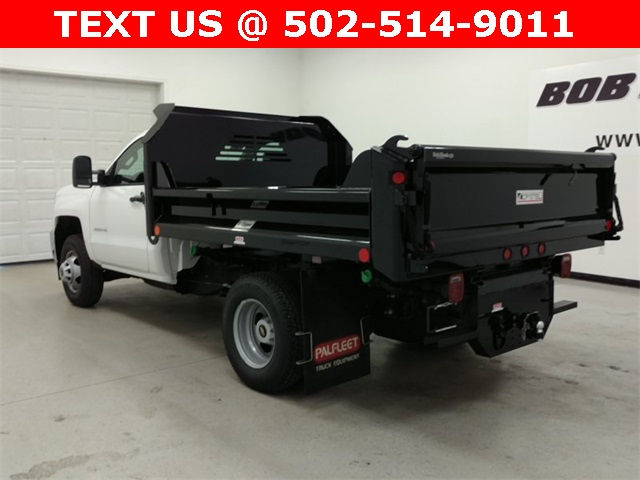 2016 Silverado 3500 Regular Cab 4x4, Crysteel Dump Body #161431 - photo 4