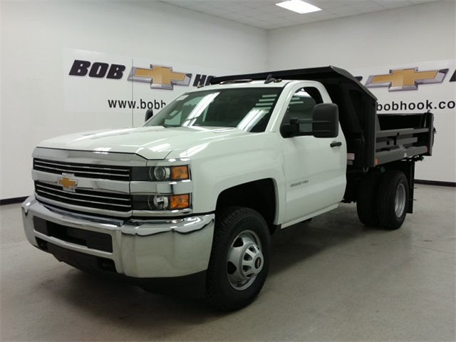 2016 Silverado 3500 Regular Cab 4x4, Crysteel Dump Body #161431 - photo 5