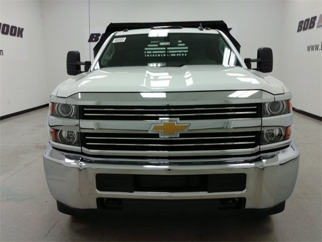 2016 Silverado 3500 Regular Cab 4x4, Crysteel Dump Body #161431 - photo 6