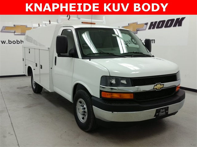 2017 Express 3500, Knapheide Service Utility Van #170313 - photo 3