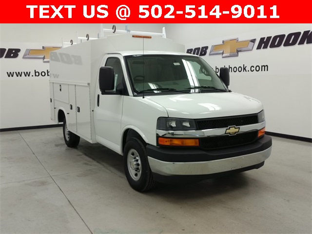 2017 Express 3500, Knapheide Service Utility Van #170371 - photo 15