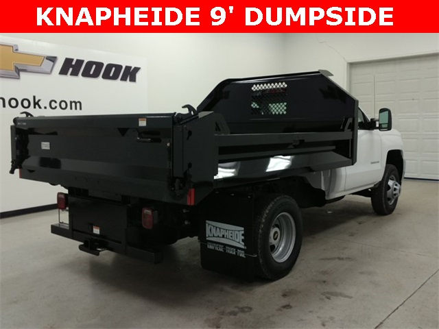 2017 Silverado 3500 Regular Cab 4x4, Knapheide Dump Body #170528 - photo 2