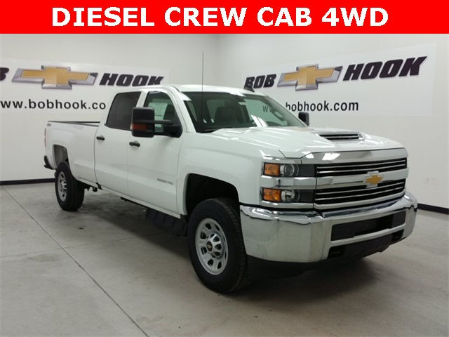 2017 Silverado 3500 Crew Cab 4x4, Pickup #170547 - photo 3