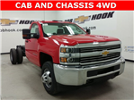 2017 Silverado 3500 Regular Cab 4x4, Cab Chassis #170672 - photo 1