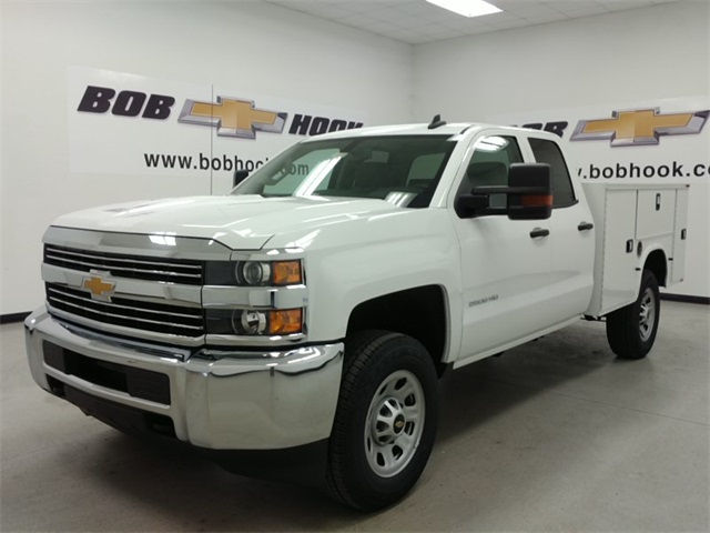 2017 Silverado 2500 Double Cab 4x4, Knapheide Service Body #170680 - photo 3