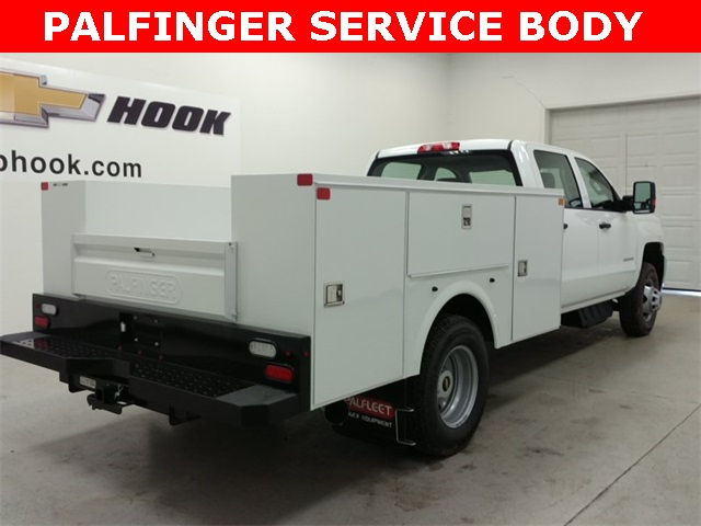 2017 Silverado 3500 Crew Cab 4x4, Palfinger Service Body #170688 - photo 2