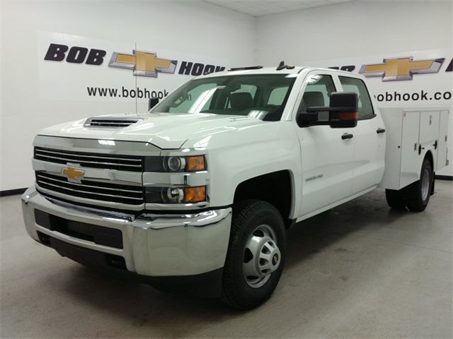 2017 Silverado 3500 Crew Cab 4x4, Palfinger Service Body #170688 - photo 5