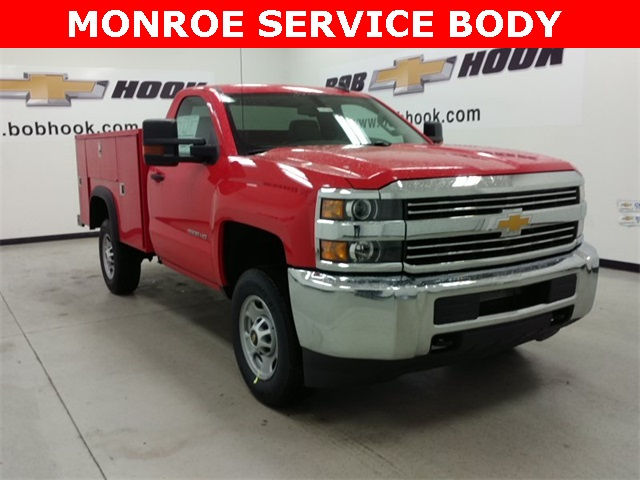 2017 Silverado 2500 Regular Cab, Monroe Service Body #170702 - photo 10