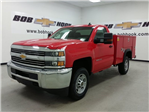 2017 Silverado 2500 Regular Cab, Monroe Service Body #170702 - photo 1