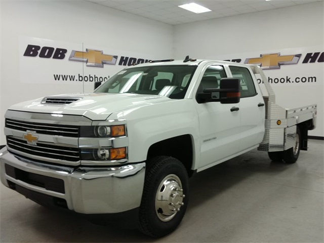 2017 Silverado 3500 Crew Cab 4x4, Hillsboro Platform Body #170718 - photo 5