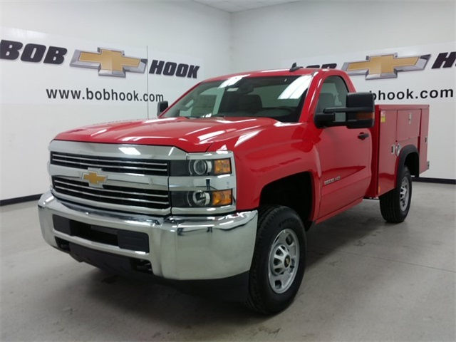 2017 Silverado 2500 Regular Cab 4x4, Service Body #170729 - photo 5