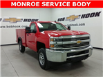 2017 Silverado 2500 Regular Cab 4x4, Service Body #170729 - photo 1