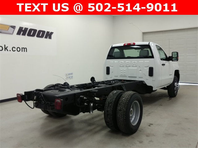 2017 Silverado 3500 Regular Cab 4x4, Cab Chassis #170743 - photo 2