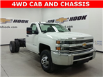 2017 Silverado 3500 Regular Cab 4x4, Cab Chassis #170743 - photo 1