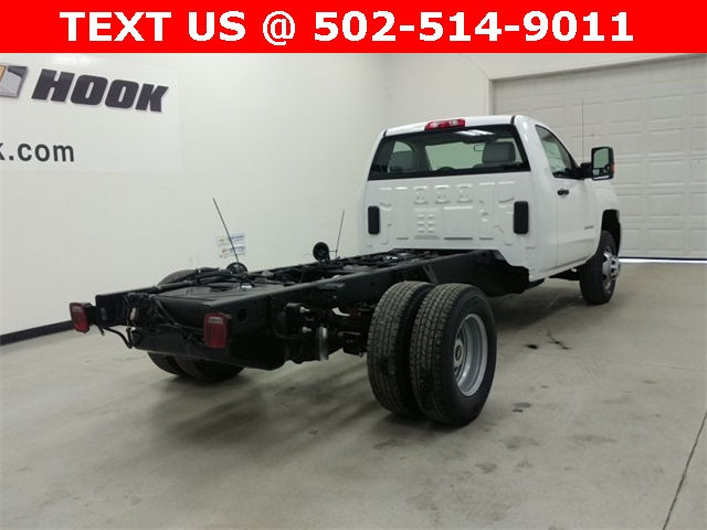 2017 Silverado 3500 Regular Cab, Cab Chassis #170758 - photo 2