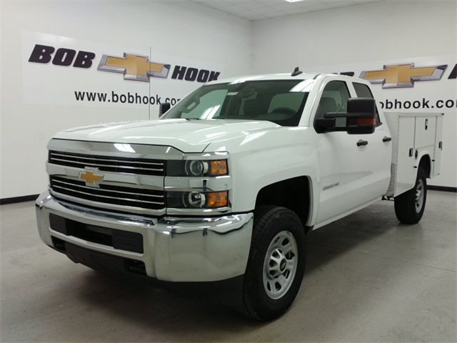 2017 Silverado 2500 Double Cab 4x4, Knapheide Service Body #170771 - photo 5