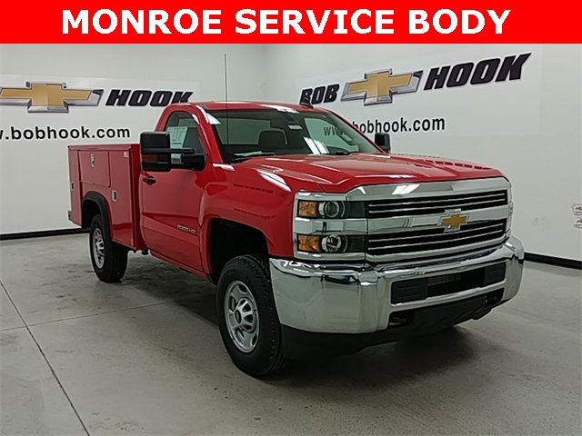 2017 Silverado 2500 Regular Cab, Monroe Service Body #170801 - photo 3