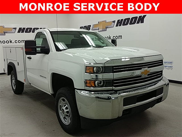 2017 Silverado 2500 Regular Cab 4x4, Monroe Service Body #170840 - photo 11