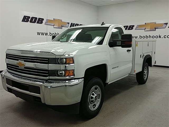 2017 Silverado 2500 Regular Cab 4x4, Monroe MSS II Service Body #170840 - photo 5