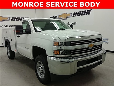 2017 Silverado 2500 Regular Cab 4x4, Monroe MSS II Service Body #170840 - photo 1