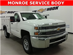 2017 Silverado 2500 Regular Cab 4x4,  Monroe Service Body #170840 - photo 1