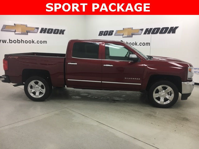 2017 Silverado 1500 Crew Cab 4x4, Pickup #170965 - photo 3
