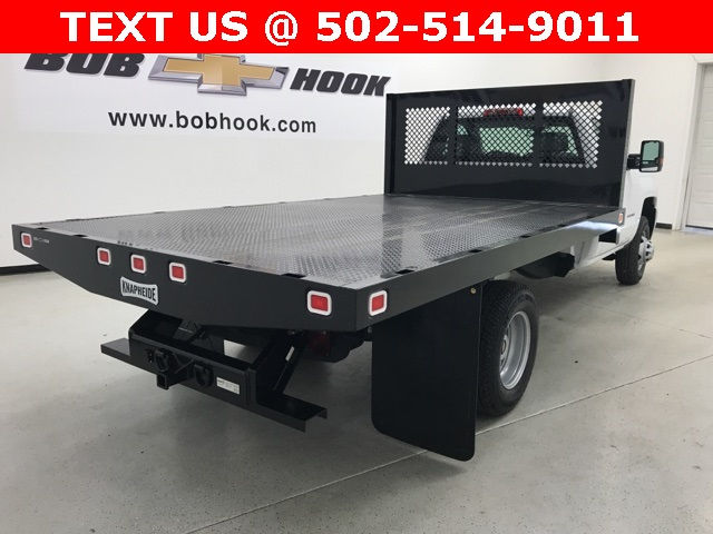 2017 Silverado 3500 Regular Cab DRW, Knapheide Platform Body #171033 - photo 3