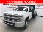 2017 Silverado 3500 Regular Cab DRW, Knapheide Platform Body #171033 - photo 1