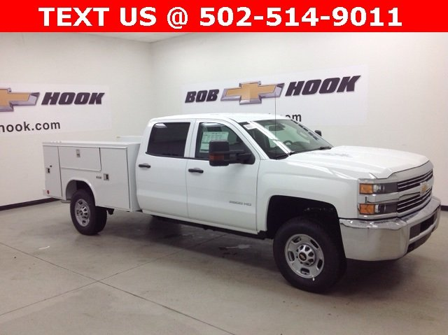2017 Silverado 2500 Crew Cab 4x4, Reading Service Body #171042 - photo 3