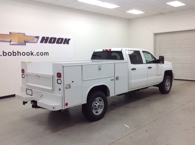 2017 Silverado 2500 Crew Cab 4x4, Reading Service Body #171042 - photo 2