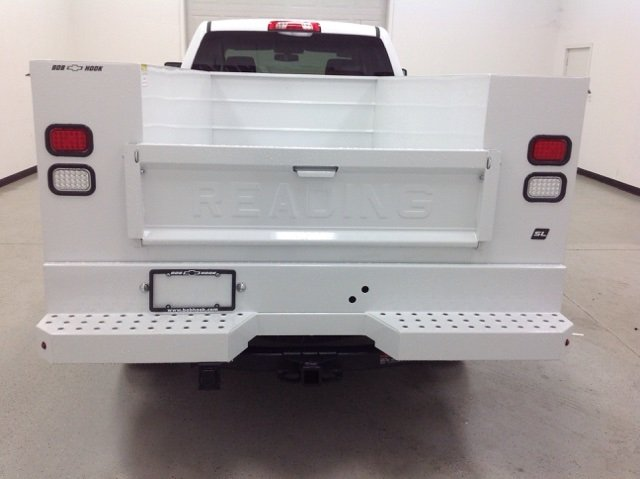 2017 Silverado 2500 Crew Cab 4x4, Reading Service Body #171042 - photo 4