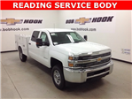 2017 Silverado 2500 Crew Cab 4x4, Reading Service Body #171042 - photo 1