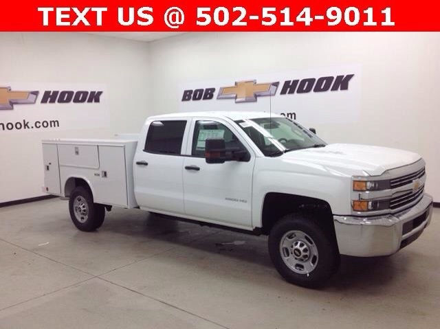 2017 Silverado 2500 Crew Cab 4x4, Reading Service Body #171043 - photo 3