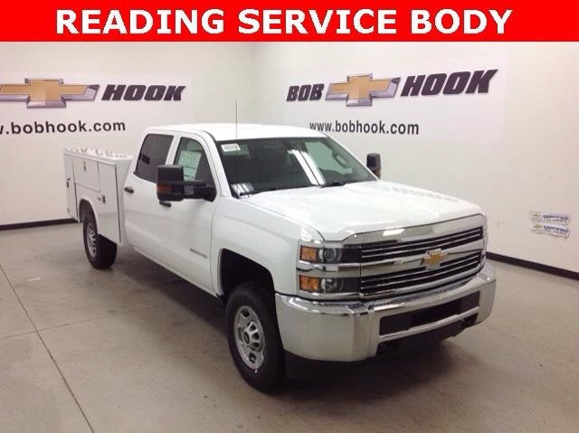 2017 Silverado 2500 Crew Cab 4x4, Reading Service Body #171043 - photo 4