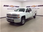 2017 Silverado 2500 Crew Cab 4x4, Reading Service Body #171043 - photo 1