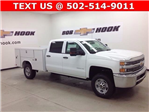 2017 Silverado 2500 Crew Cab 4x4, Reading SL Service Body Service Body #171043 - photo 1