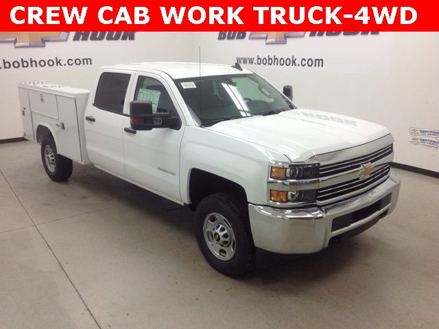 2017 Silverado 2500 Crew Cab 4x4, Reading Service Body #171044 - photo 19