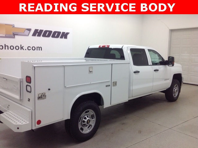 2017 Silverado 2500 Crew Cab 4x4, Reading Service Body #171044 - photo 20