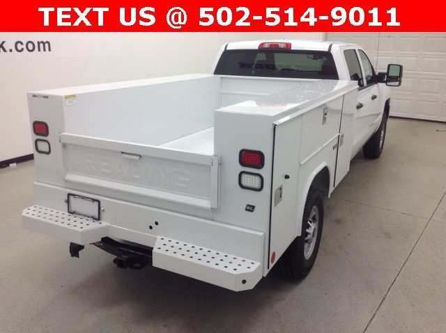 2017 Silverado 2500 Crew Cab 4x4, Reading Service Body #171044 - photo 3