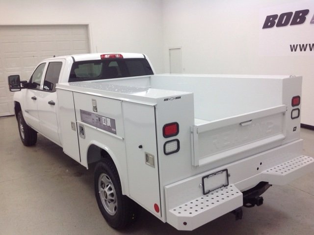 2017 Silverado 2500 Crew Cab 4x4, Reading Service Body #171044 - photo 5