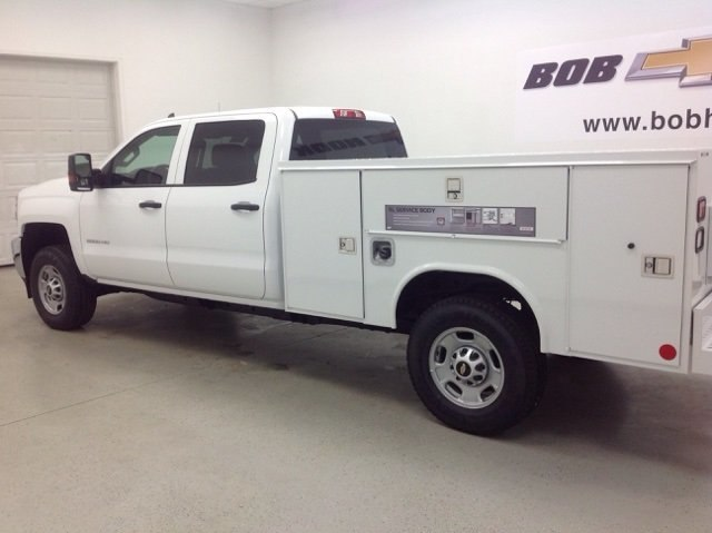 2017 Silverado 2500 Crew Cab 4x4, Reading Service Body #171044 - photo 6