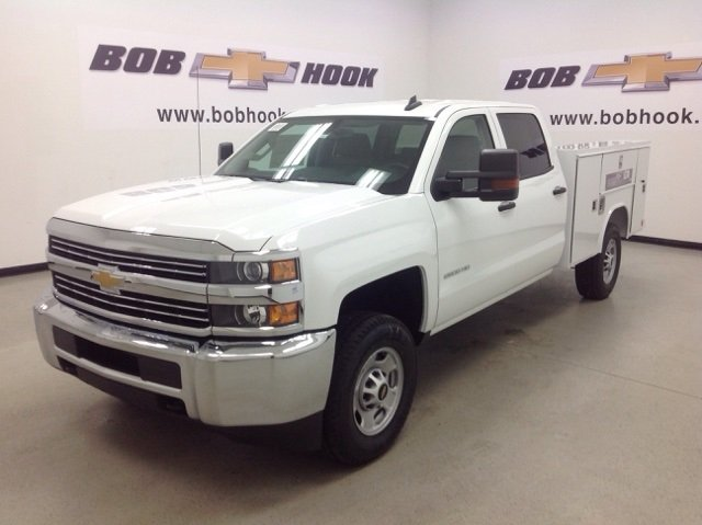 2017 Silverado 2500 Crew Cab 4x4, Reading Service Body #171044 - photo 7