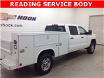 2017 Silverado 2500 Crew Cab 4x4, Reading Service Body #171044 - photo 1