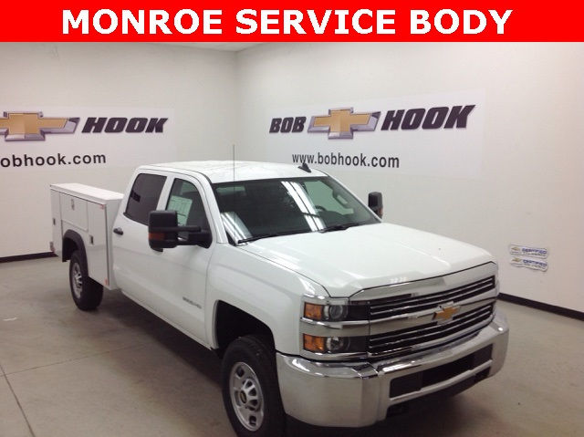 2017 Silverado 2500 Crew Cab, Monroe Service Body #171062 - photo 3